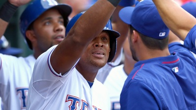 Beltre's Latest Dad Moment Was Classic