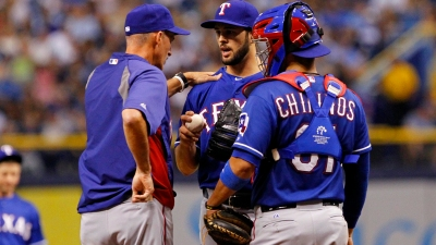 Chirinos Earns More Playing Time