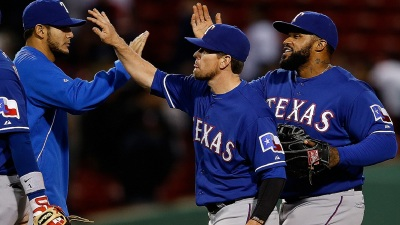 Rangers' 5-Run 3rd Sparks 10-7 Win Over Red Sox