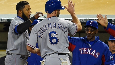 Rangers Hold on to Beat Athletics