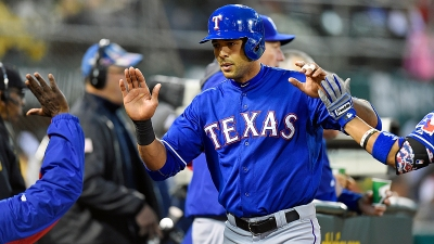 Rios' Ankle Hurting Rangers