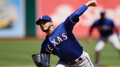 Perez Help Rangers Sweep A's With 3-0 Win