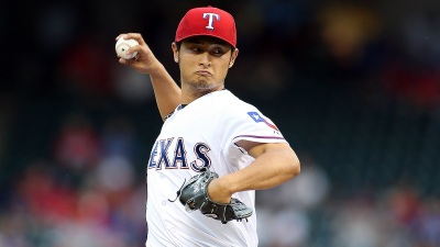 Darvish Shortest Outing in Texas' 4-0 Loss to A's