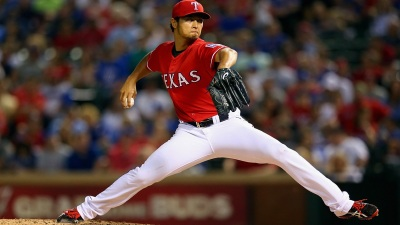 Darvish's Last Outing Now a Two-Hitter