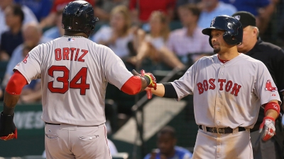 Ortiz Homers, Doubles in Red Sox Win