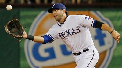 Moreland Joins Rangers' DL Party