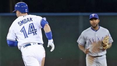 Smoak Sticks it to Rangers