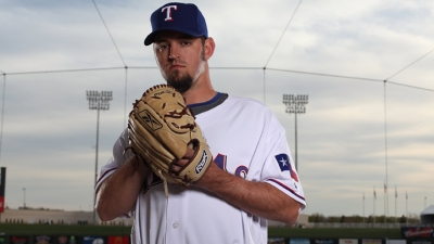 Rangers' Hurley Struck on Head in Triple-A Game