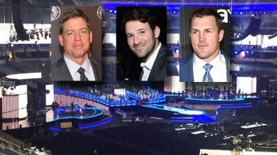 Aikman, Romo, Witten Among ACM Presenters