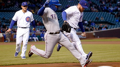Rangers, Cubs Makeup Game May 6