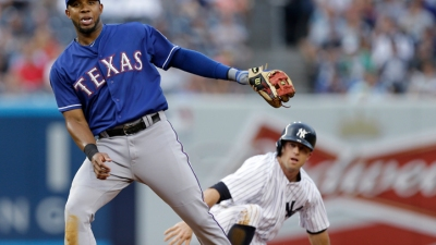 Andrus Back in Rangers Lineup