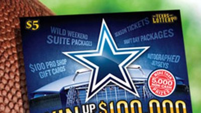 Texas Lottery Has a New Cowboys Scratch-Off Game