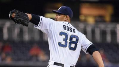 Lewis Struggles, Ross Shuts Down Rangers 7-0
