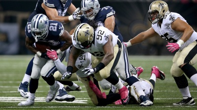 Randle Largely Mum on TD Dive, Near Fumble