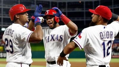Rangers' Bats Break Out of Slump
