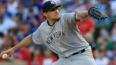 Rangers Avoid Being No Hit, Lose to Yankees 3-1