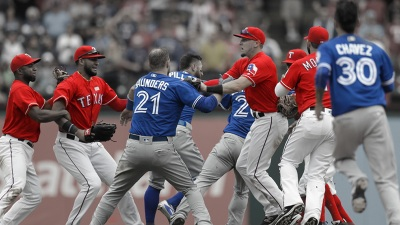 Rangers, Blue Jays Continue Volatile Rivalry in ALDS