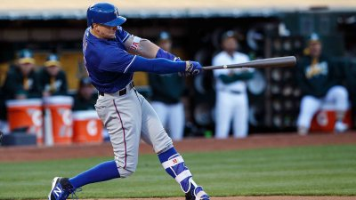 Rangers Powered to Lopsided Win Over A's