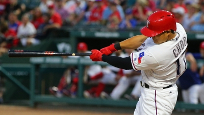 Choo Homers as Rangers Top A's 5-3
