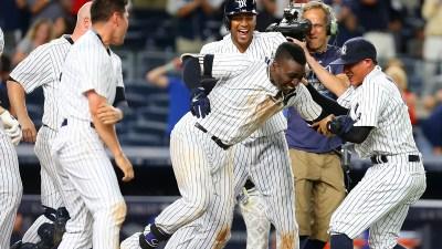Rangers Blow 4-Run Lead, Lose to Yankees 9-7