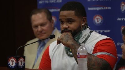 Fielder Back in Rangers' Dugout After Career-Ending Surgery