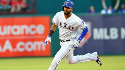 Mazara Hits Slam, Has 6 RBIs to Get Rangers First Win