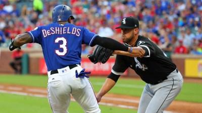 Delmonico's Inside-Park HR Lifts White Sox Over Rangers 4-3