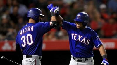 Beltre Hits 2 HRs, Rangers Beat Angels 7-5 in 10 Innings