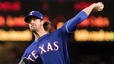 Hamels Tames Mariners, Rangers Stay Close in Wild-Card Hunt