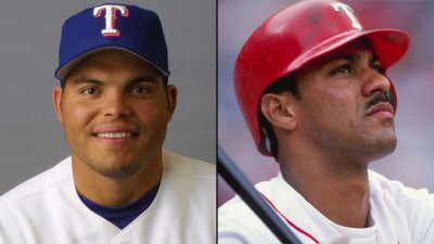 Pudge to Rangers' Hall; Gonzalez Declines