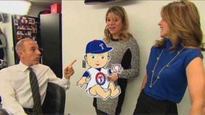 Jenna Bush Hager Expecting a... Rangers Fan