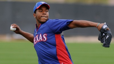 Rangers Finalize Starting Rotation