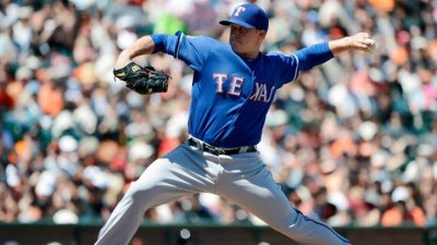 Rangers Clear Up Fifth Starter Race