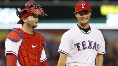 Pierzynski: Darvish Has Best Stuff I've Ever Seen