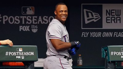 Beltre Joins Elite Club With 3 HRs