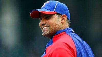 Rangers Name Bengie Molina 1B Coach