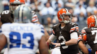 Listless Cowboys Trail Browns 13-0 At Half