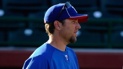 Rangers Bring Up Tomko, Teagarden