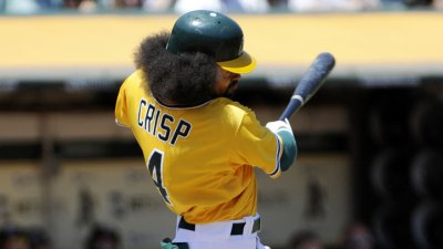 A's Coco Crisp Still Struggling With Pink Eye