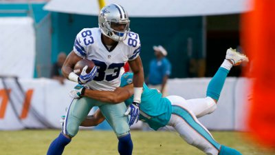 Cowboys Ahead of the Dolphins at Half, 6-3