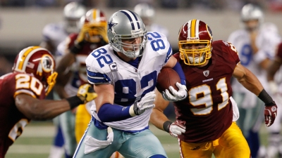 Witten Set To Pass Ozzie Newsome On All-Time TE Reception List