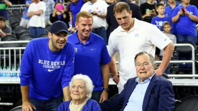 Garrett, Romo, Witten Root for Duke