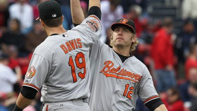 Now An Oriole, Chris Davis Has No Hard Feelings For The Rangers