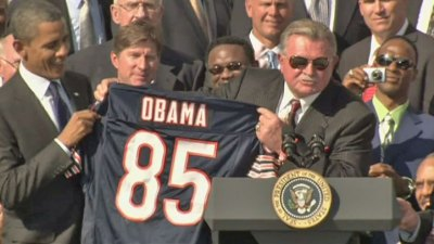Vs. Cowboys, Bears to Retire Ditka's Jersey