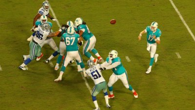Cowboys Drop Dress Rehearsal Game to Dolphins, 25-20