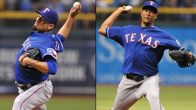 Garza, Ogando Turn in Season-Bests