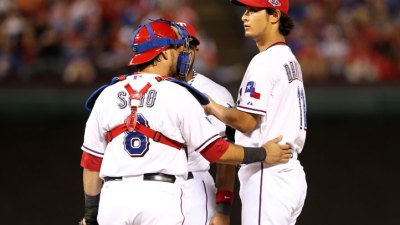 Darvish Fails to Halt Skid