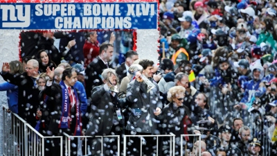 Giants Exec Jabs At Cowboys During Victory Parade