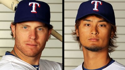 Hamilton, Darvish Earn MLB Awards