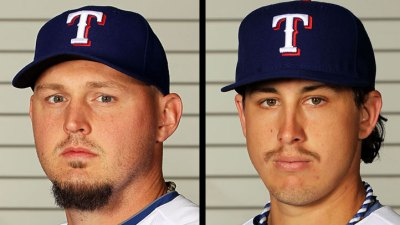 Rangers Pitching In Rough Patch